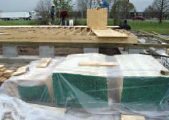 Proper lumber storage