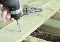 Southern Pine fasteners and connectors